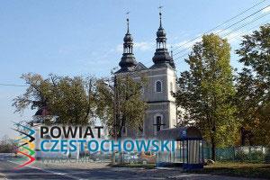 Kościół Św. MIchała w Kłomnicach - Zureks - Praca własna / Wikipedia / Public domain
