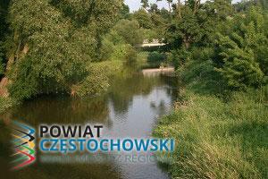 Rzeka Warta przepływająca przez Mstów - Przykuta - Praca własna / Wikipedia / GFDL