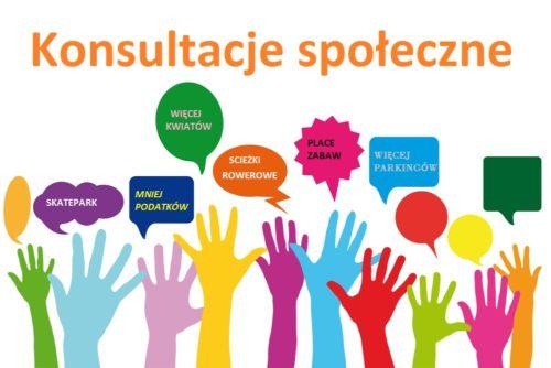 Konsultacje społeczne – Program Współpracy Gminy Kruszyna z organizacjami pozarządowymi