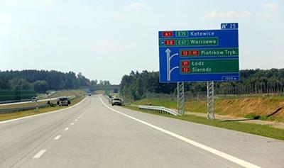 Utrudnienia na drodze pomiędzy miejscowościami Wikłów i Łęg
