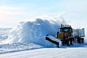 Zimowe utrzymanie dróg w sezonie 2020/2021 na terenie Gminy Konopiska