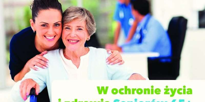 """Trwa nabór do projektu wsparcia zdrowia seniorów w ramach zadania """"W ochronie życia i zdrowia Seniorów 65+"""""""