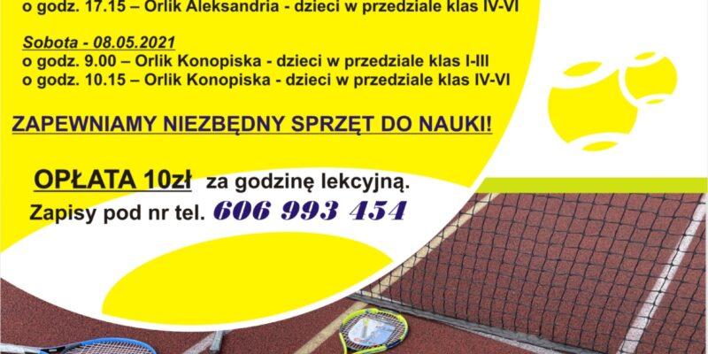 Szkółka tenisa ziemnego dla dzieci