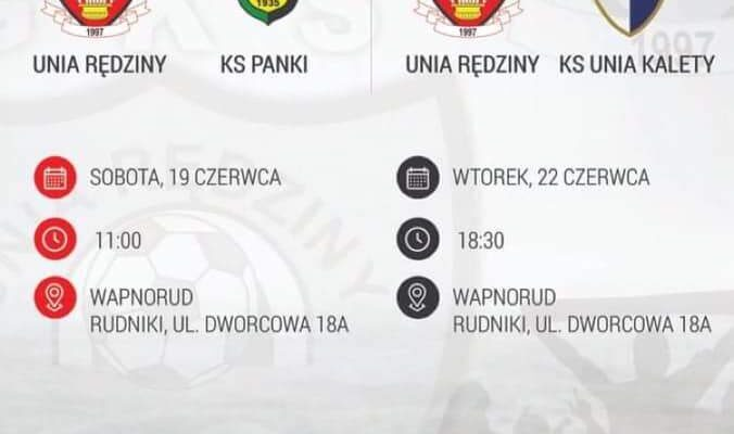 GKS Unia Rędziny – KS Panki – mecz