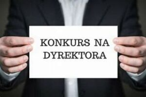 Ogłoszenie konkursu na stanowisko dyrektora Gminnego Przedszkola w Starczy