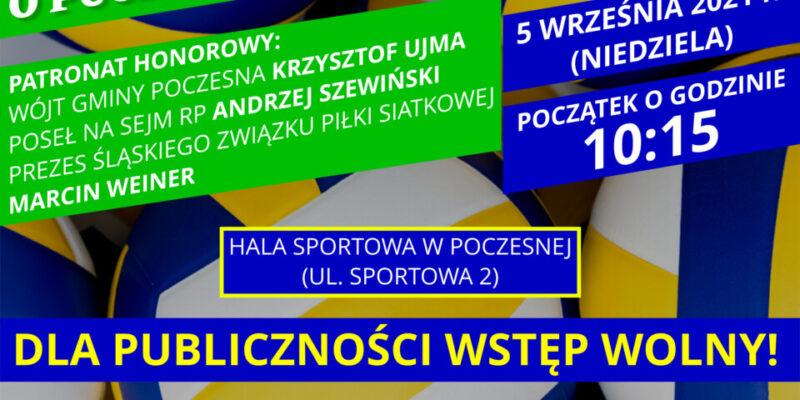 Zapraszamy na Turniej Otwarcia Sezonu w Piłce Siatkowej Mężczyzn o Puchar Wójta Gminy Poczesna