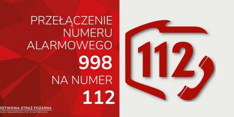 Przełączanie numeru alarmowego 998 na 112