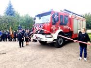 OSP Piasek z nowym wozem strażackim