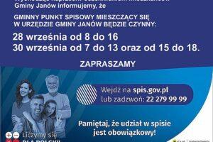 Zakończenie Narodowego Spisu Powszechnego już 30 września!