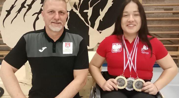 Pocześnianka z trzema tytułami Otwartych Mistrzostw Polski w Parabadmintonie Zakopane 2021