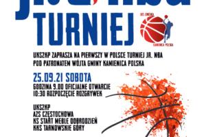 UKS2KP zaprasza na pierwszy w Polsce Turniej JR. NBA pod patronatem Wójta Gminy Kamienicy Polskiej