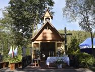 Poświęcenie nowej Kapliczki w Okrągliku