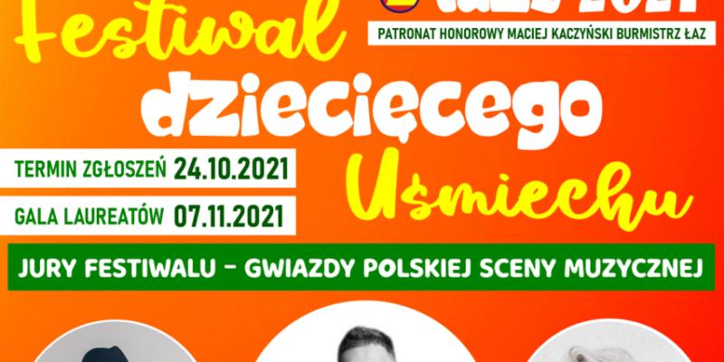 """""""STOKROTKOWO"""" Łazy 2021- Wojewódzki Festiwal Dziecięcego Uśmiechu"""