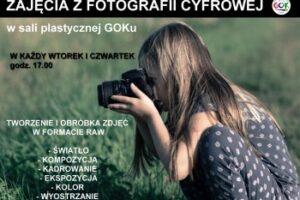 Zajęcia z fotografii cyfrowej