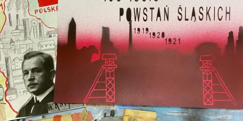 Uczniowie SP Konin wzięli udział wkonkursie plastycznym związanym zzobchodami rocznic 100 – lecia Powstań Śląskich